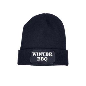 beanie blauw winter bbq